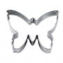 Метален резец - Пеперуда - 6 см