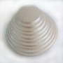 Подложка за торта - Сребриста кръгла - 1 х 30 см