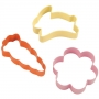 Комплект метални цветни резци - Пролет - 3 бр