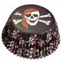 Хартиени форми за мъфини - Пирати - 50 бр