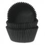 Хартиени форми за мъфини - Черно кадифе - 50 бр