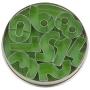 Комплект метални резци - Цифри - 9 бр