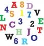 Резци и щампи - Азбука и цифри, големи букви