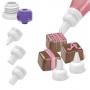 Комплект накрайници за декориране с топен шоколад - 5 бр