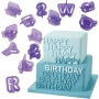 Wilton - Cut-Outs Alphabet and Numbers Set - 40 pcs