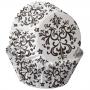 Хартиени форми за мъфини - Дамаска - 75 бр