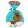 Комплект торбички - Сладки Коледни празници - 15 бр