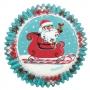 Хартиени форми за мъфини - Сладки Коледни празници - 75 бр