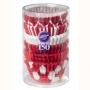 Хартиени форми за мини мъфини - Коледно червено - 150 бр