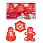 Комплект резци и шаблони - Коледа - 3 бр