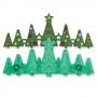 Резец и щампа - Коледни елхи