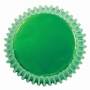 Хартиени форми за мъфини - Металик зелени - 30 бр