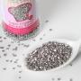 Захарни кристали - Сребърни - 80 гр