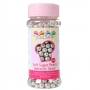 Меки захарни перли - Сребърни - 60 гр
