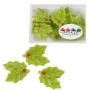 Декорация от марципан - Бодлива зеленика - Зелена - 12 бр