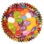 Хартиени форми с фолио за мъфини - Jelly Bean - 36 бр