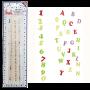 Резци и щампи - Азбука Арт Деко - Големи букви и цифри