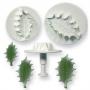 Комплект резци и щампи с бутало - Зеленика - големи - 3 бр