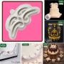 Силиконов калъп - Creative Cake System - C Scrolls