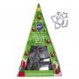 Комплект метални мини резци - Коледна елха - 6 бр
