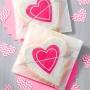 Комплект луксозни торбички - Сърдечни пожелания - 6 бр