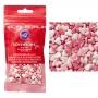 Захарни фигурки - Перлени сърца - 56 гр