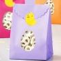 Комплект торбички и стикери - Великденско яйце - 6 бр