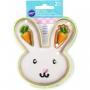 Комплект метални цветни резци - Зайче и морков - 2 бр