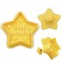 Резец и щампа с бутало - Празнична звезда