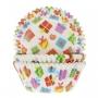 Хартиени форми за мъфини - Подаръци- 50 бр
