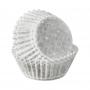 Хартиени форми за мини мъфини - Снежни изкушения - 100 бр