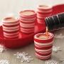 Ядливи чашки за шотове и десерти - Коледни