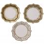 Парти чинии - Party Porcelain - Злато и порцелан - Средни