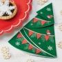 Парти Салфетки - Vintage Noel - Коледна елха