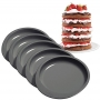Комплект форми за торта Easy Layers - Кръгли - 15 см / 5 бр