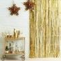 Парти завеса - METALLIC STAR - Злато - 91 х 245 см