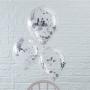 Парти балони - PICK & MIX - Сребърни конфети