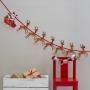 Парти гирлянд - Christmas Snowman - Дядо Коледа с шейната