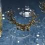 Декорации за чаши - Gold Christmas - Златна Коледа