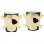 Парти чаши - MeriMeri - Пиратско съкровище