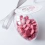 Великденско яйце - RUBY RB1 - Белгийски розов шоколад - 50 гр