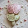 Домашна бисквитка - Лале - Перлено розово