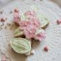 Домашна бисквитка - Букет - Перлено розово