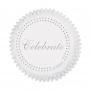 Хартиени форми за мъфини - Celebrate in Silver - 75 бр