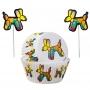Комплект за мъфини - Балон куче