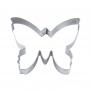 Метален резец - Пеперуда - 3 см