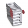 Метален резец и щампа с бутало - Бисквитка - 6 х 4.5 см
