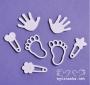 Чипборд форма - Бебшки комплект