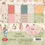 Комплект дизайнерски хартии - 6 x 6 - Рожден ден