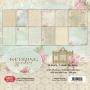 Комплект дизайнерски хартии - 6 x 6 - Сватбена градина